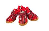 Ботинки для собак-Красный-№1