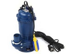 Насос для чистой и грязной воды с измельчителем и поплавком 750W