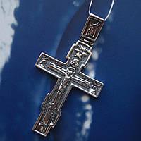 Серебряный крестик с распятием, 5,2 грамма