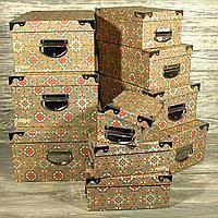 Подарочная коробка 22842-08 Орнамент 35,5*27,0*16,5см