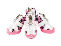 Ботинки для собак-Розовый-№2