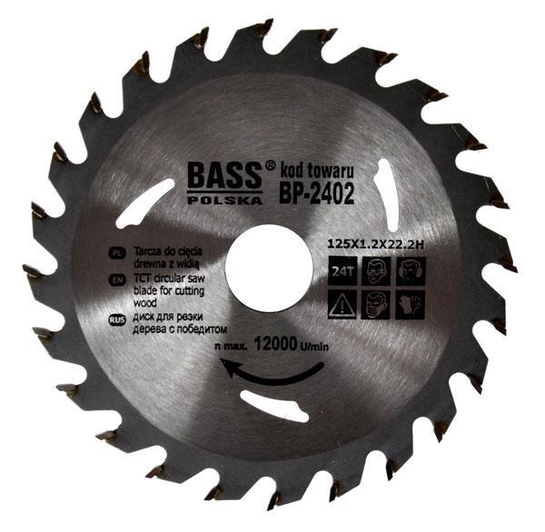 Универсальный диск 125 мм x 1.2 мм x 24T x 22.2H