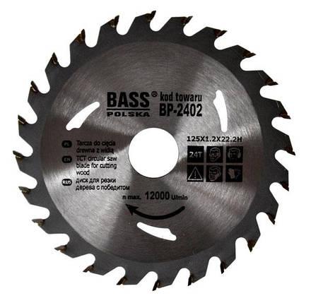 Универсальный диск 125 мм x 1.2 мм x 24T x 22.2H, фото 2