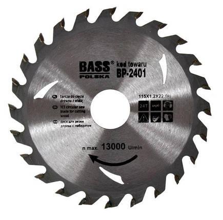 Универсальный диск 115 мм x 1.2 мм x 24T x 22.2H, фото 2
