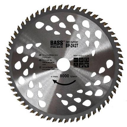 Универсальный диск 180 мм x 1.6мм x 60Т х 20.0-16.0H, фото 2