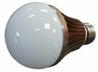 Светодиодная лампа 6W 650lm E27 холодный свет