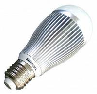 Светодиодная лампа 10W 900lm E27 холодный свет