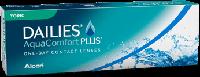 Контактные линзы(+подарок!) однодневные Dailies Aqua Comfort Plus Toric, (30шт)