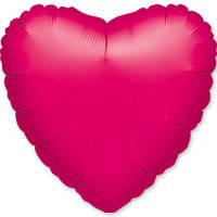 "Куля Anagram фольгований Серце 18""(46см) фуксія 1204-0028"