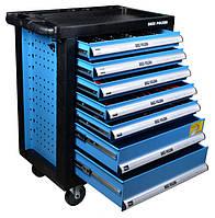 Инструментальный шкаф с 220 инструментами, семь ящиков