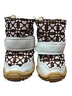 Ботинки для собак-Коричневый-№3