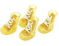 Резиновые ботинки для собак-Желтый-№2