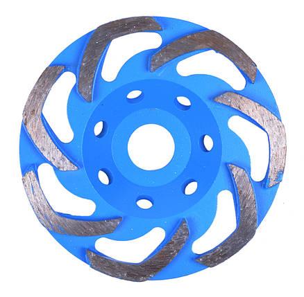 Алмазный шлифовальный круг для бетонной шлифовки 125 мм, фото 2