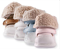 Теплые ботинки для собак -Голубой-№S(2)