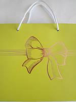 Пакет подарочный бумажный квадрат 23х24х10 (24-068)