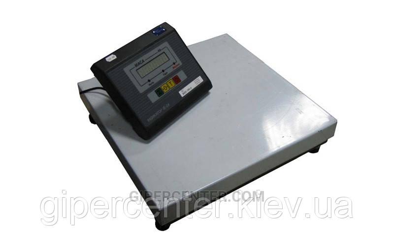 Весы товарные Промприбор ВН-200-1-3-A ЖКИ до 200 кг (400х400 мм), без стойки