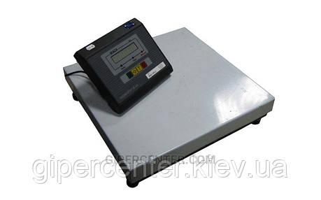 Весы товарные Промприбор ВН-100-1-А ЖКИ до 100 кг (400х400 мм), без стойки, фото 2