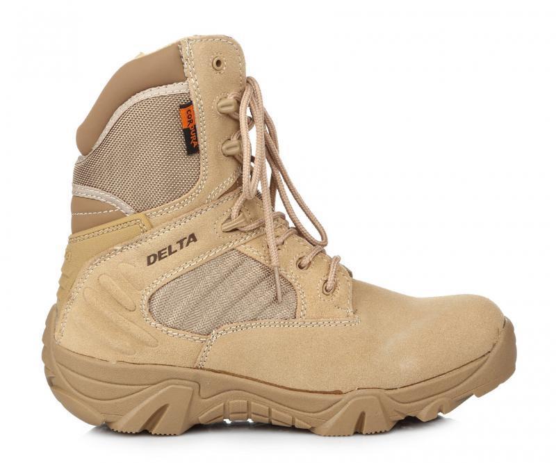 87e7edaf2 Ботинки мужские DELTA Army Classic 9 inch Sand (дельта арми) бежевые ...