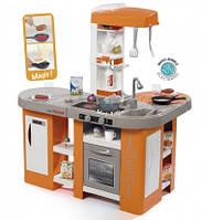 """Интерактивная кухня """"Тефаль. Студио"""" большая с эффектом кипения, звук.ефектом, аксес., Оранжевая, 3+"""