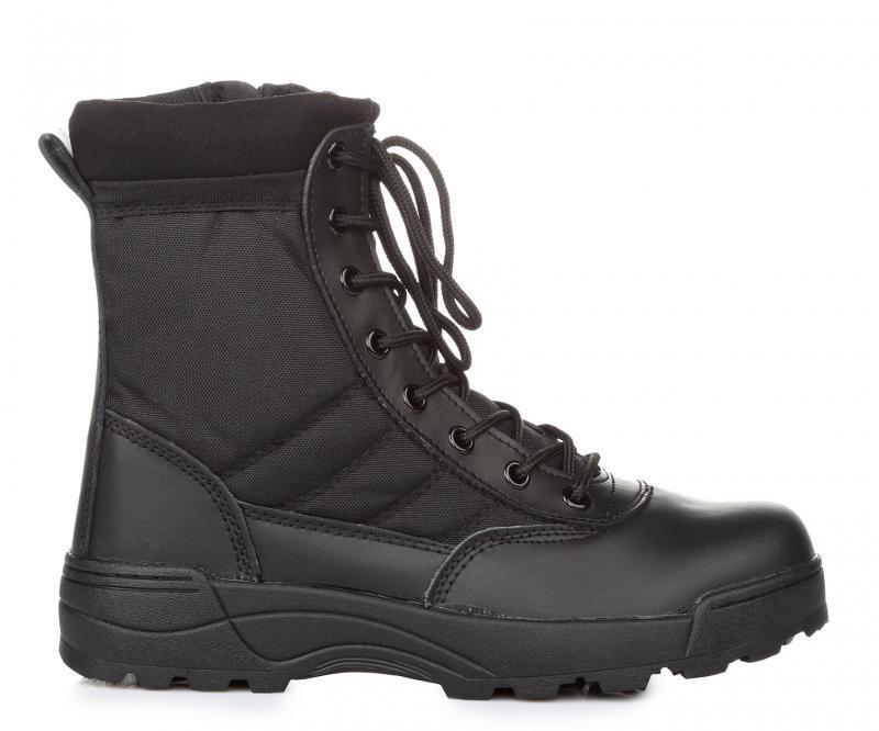 1afee74e3 Ботинки мужские DELTA Army Classic 9 inch Side Zip 115201 Black (дельта  арми) черные
