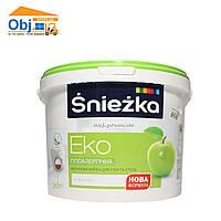 Краска  Sniezka Eko краска Снежка ЕКО (20кг)