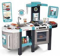"""Интерактивная кухня """"Тефаль. Френч"""" большая с эффектом кипения, звук.ефектом, аксес., Голубая, 3+"""