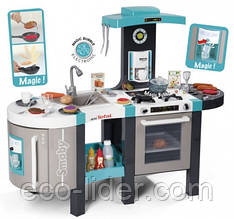 "Інтерактивна кухня ""Тефаль. Френч"" велика з ефектом кипіння, звук.ефектом, аксес., Блакитна, 3+"