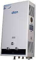 Газовая колонка Dion JSD 08 дисплей бело-черная