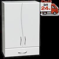 Ш-751 шкаф для ванной навесной волна 2 двери