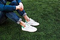 Кроссовки Стэн Смит СКИДКА! Adidas Stan Smith (с зеленым) , фото 1
