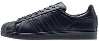 Женские кроссовки Adidas Superstar Supercolor PW Night Navy (Адидас Суперстар Суперколор) черные