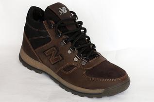 Кроссовки зимние New Balance подросток коричневые