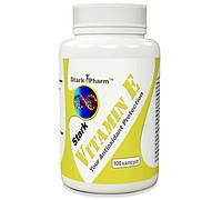 Витамин Е Stark Pharm 100 caps. (антиоксидантная добавка, витамины Е & С)