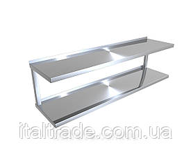 Навісна полиця кухонна (2 рівня)