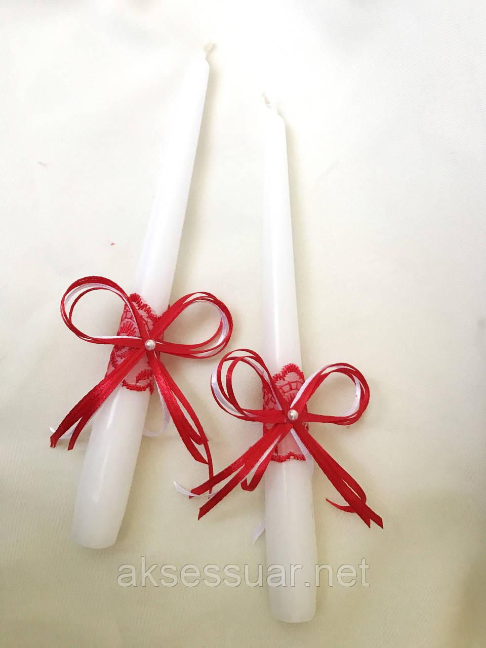 Свадебные свечи для венчания и обряда семейный очаг
