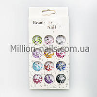 """Набор для дизайна ногтей """"Цветные камушки"""""""