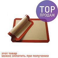 Силиконовый коврик для выпечки 40х30 / товары для кухни