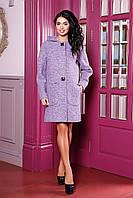 Пальто женское модное с капюшоном