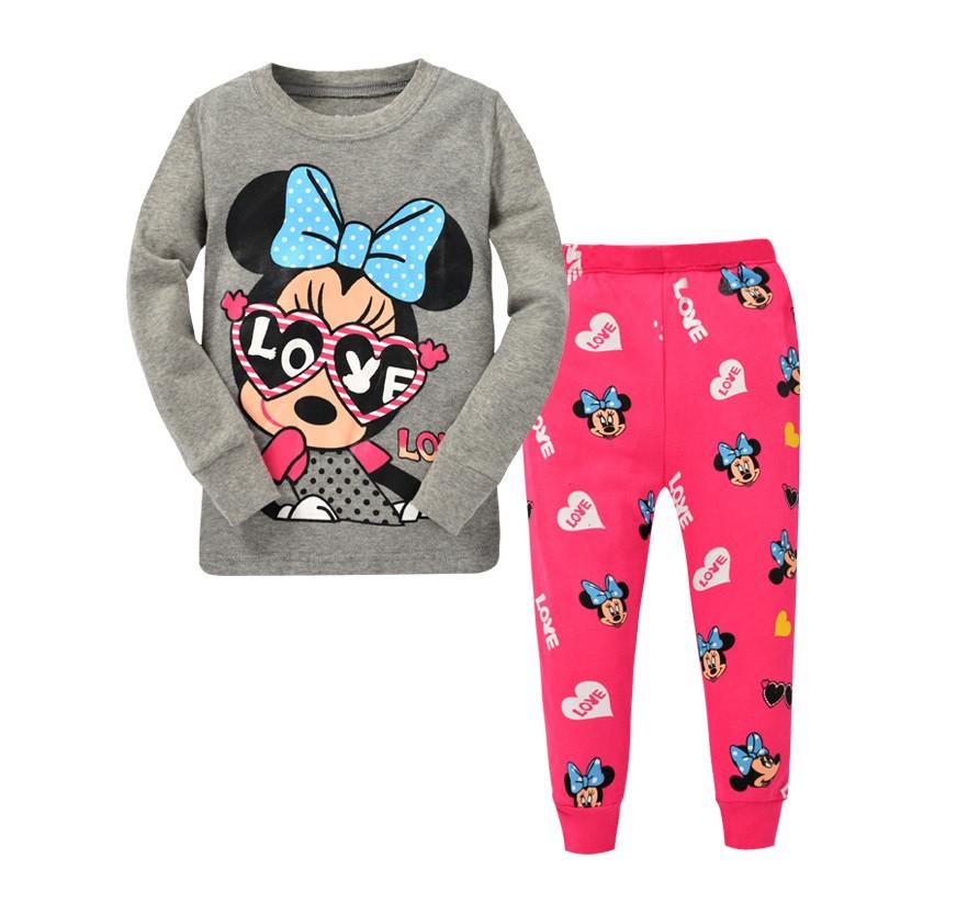Пижама детская штаны и кофточка для девочки 110