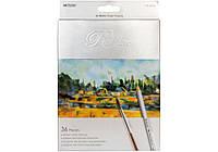 Набор акварельных карандашей Marco Raffine 36 цветов картон