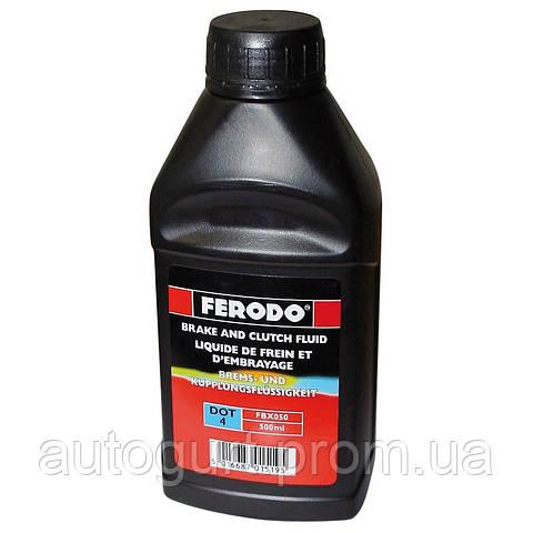 Ferodo Жидкость тормозная DOT4 (0.5 л.)