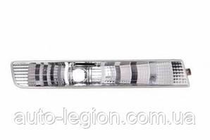Фонарь указателя поворота на Opel Vivaro  01->06  R (правый, белый, в бампере) — Depo(Тайвань) - 442-1601R-AE