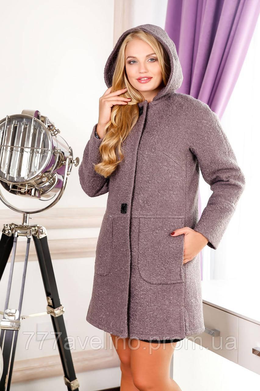 Пальто женское стильное больших размеров