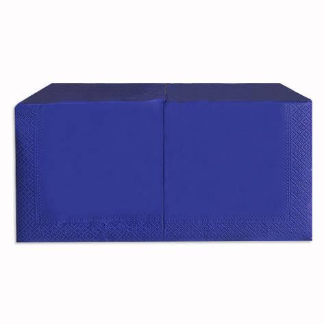 Салфетка 33*33 250л синий, фото 2