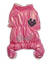 Комбинезон для собак Cristal-Розовый, фото 1