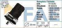Датчик температуры охл. жидкости на Renault Trafic  01->  1.9dCi, 2.2DTI, 2.5TdCi — Fae(Испания) - FAE33810