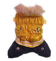 Комбинезон для собак с воротником-Желтый, фото 1