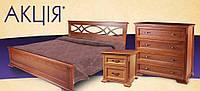 Спальня деревянная Мрия новая Evr, цвет на выбор