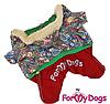 Комбинезон для собак Узор-Зеленый