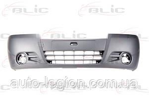 Бампер передний на Opel Vivaro  2006-> (под противотуманки) - BLIC (Польша) - 5510-00-5089904Q